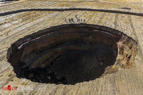 کنتور آب کشاورزی و فرونشست زمین