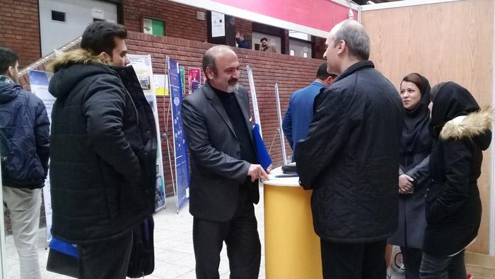 نمایشگاه شبکه های هوشمند انرژی دانشگاه صنعتی شریف