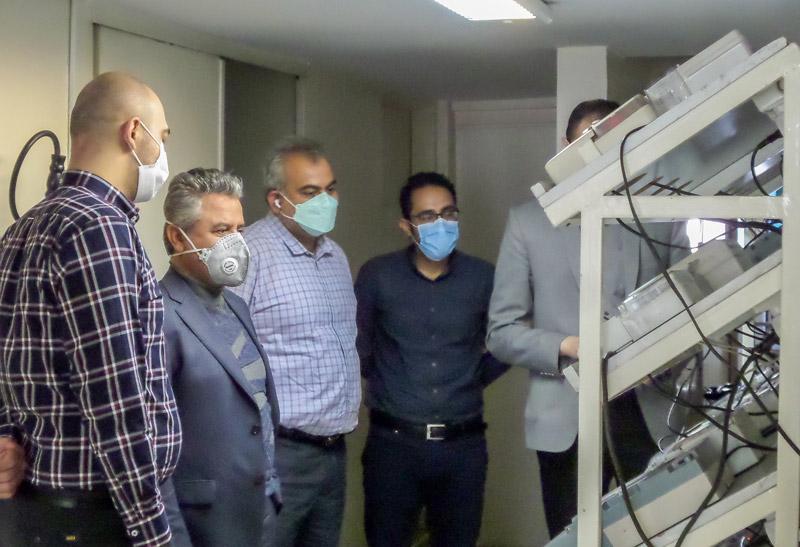 بازدید مهندس فاضلی مدیرکل دفتر حفاظت و بهره برداری منابع آب ایران از شرکت  سنجش افزار آسیا