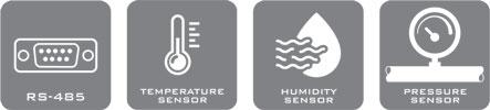 سنسور دما، رطوبت و فشار THPR-100